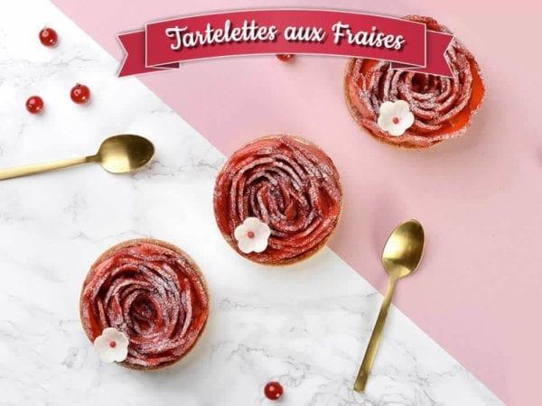 cours pâtisserie bordeaux tartelettes aux fraises
