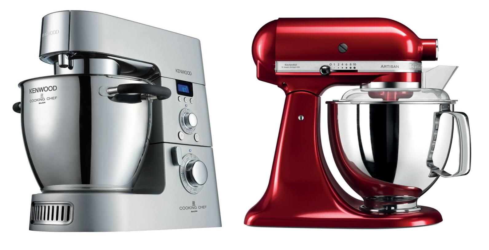 Kenwood versus Kitchenaid kitchen ai vs Kenwood meilleur robot patissier comparatif robot