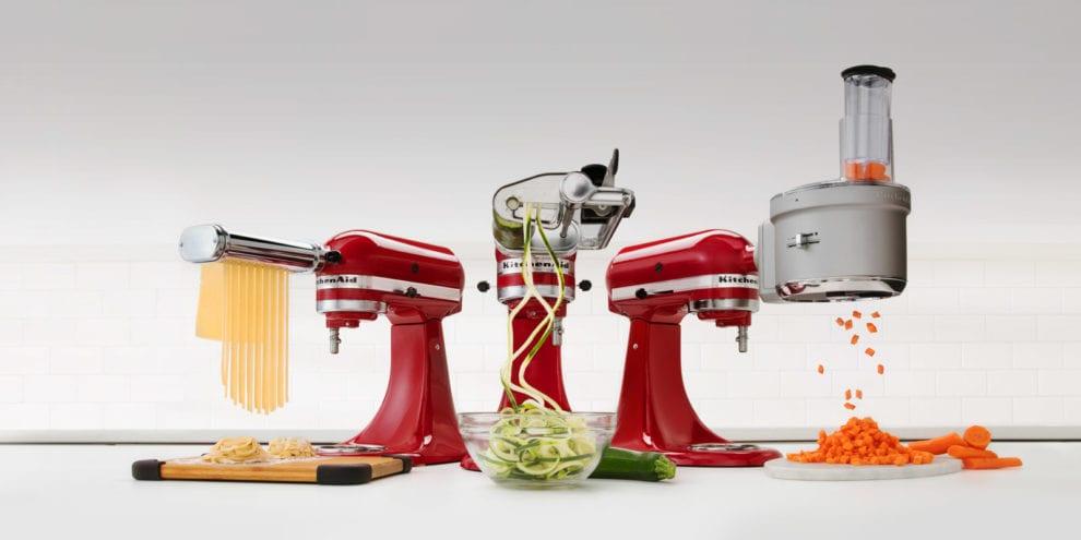 meilleur accessoire robot Kitchenaid Kenwood cuisine hachoir pas cher