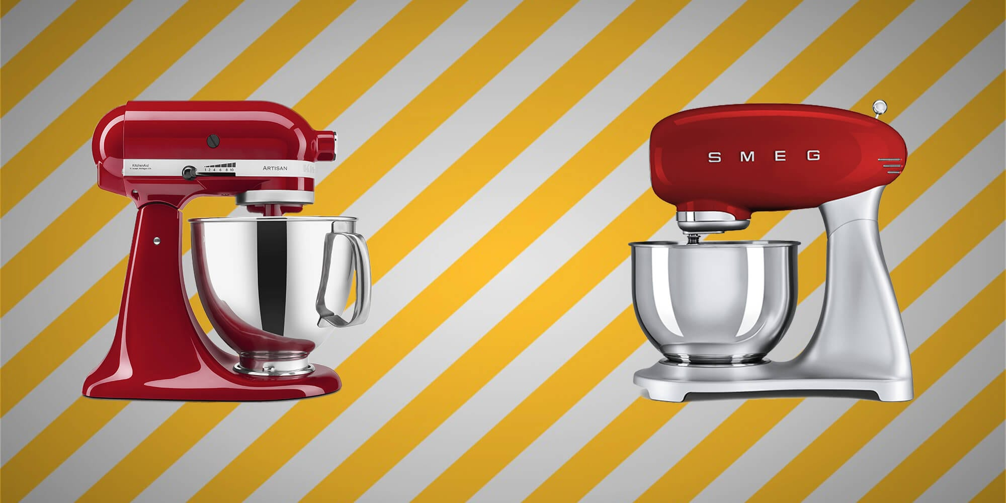 smeg ou Kitchenaid kitchen aid VS smeg quel robot choisir