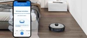 deboot ozmo 920 aspirateur robot connecté Alexa Google Assistant