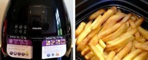 cuisson frites air fryer