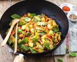meilleur wok acier carbone