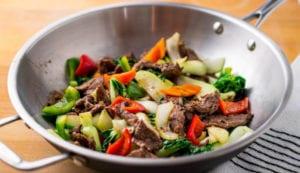 meilleur wok inox