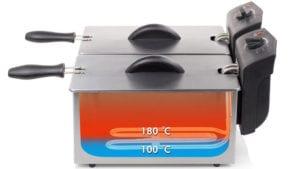 avis test essai friteuse électrique double bac Tristan fr 6937