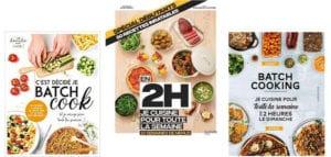 meilleur livre recettes Batch cooking comparatif guide d'achat