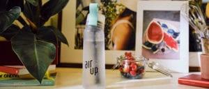 revisión de prueba de botella de agua de vainas de aire